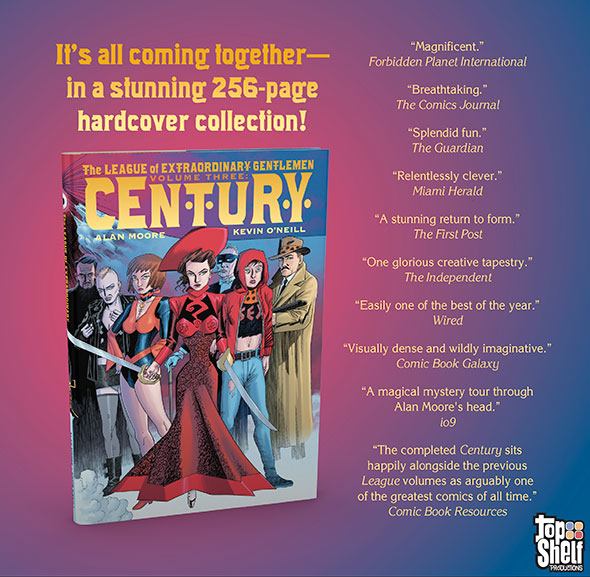 "A ""Century"" of Extraordinary Gentlemen, finally collected in gorgeous hardcover!"