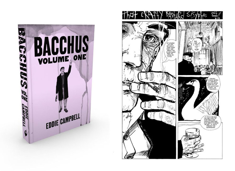 Announcing Eddie Campbell's epic BACCHUS (Omnibus Edition), plus JOHNNY BOO MEETS DRAGON PUNCHER!