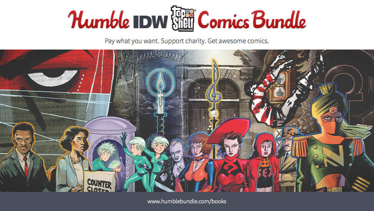 Name your own price for MARCH, LOCKE & KEY, LoEG, and more with the IDW/Top Shelf Humble Bundle!