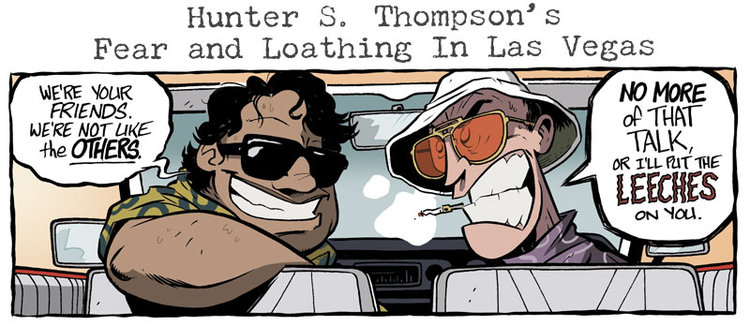 Coming in October: FEAR AND LOATHING, UPSIDE DOWN 2, and a NEMO Slipcase!