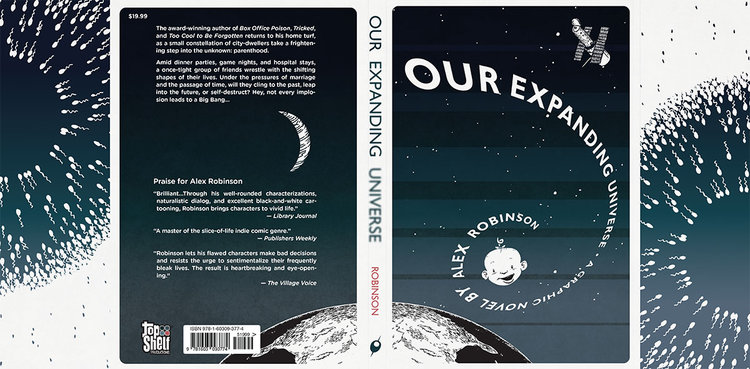Hot Off the Press: Alex Robinson's OUR EXPANDING UNIVERSE!