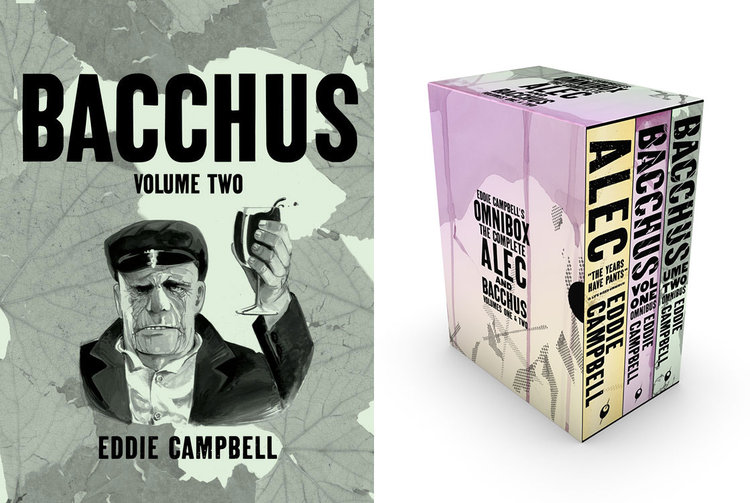 Pre-order now: the divine second half of Eddie Campbell's epic BACCHUS!