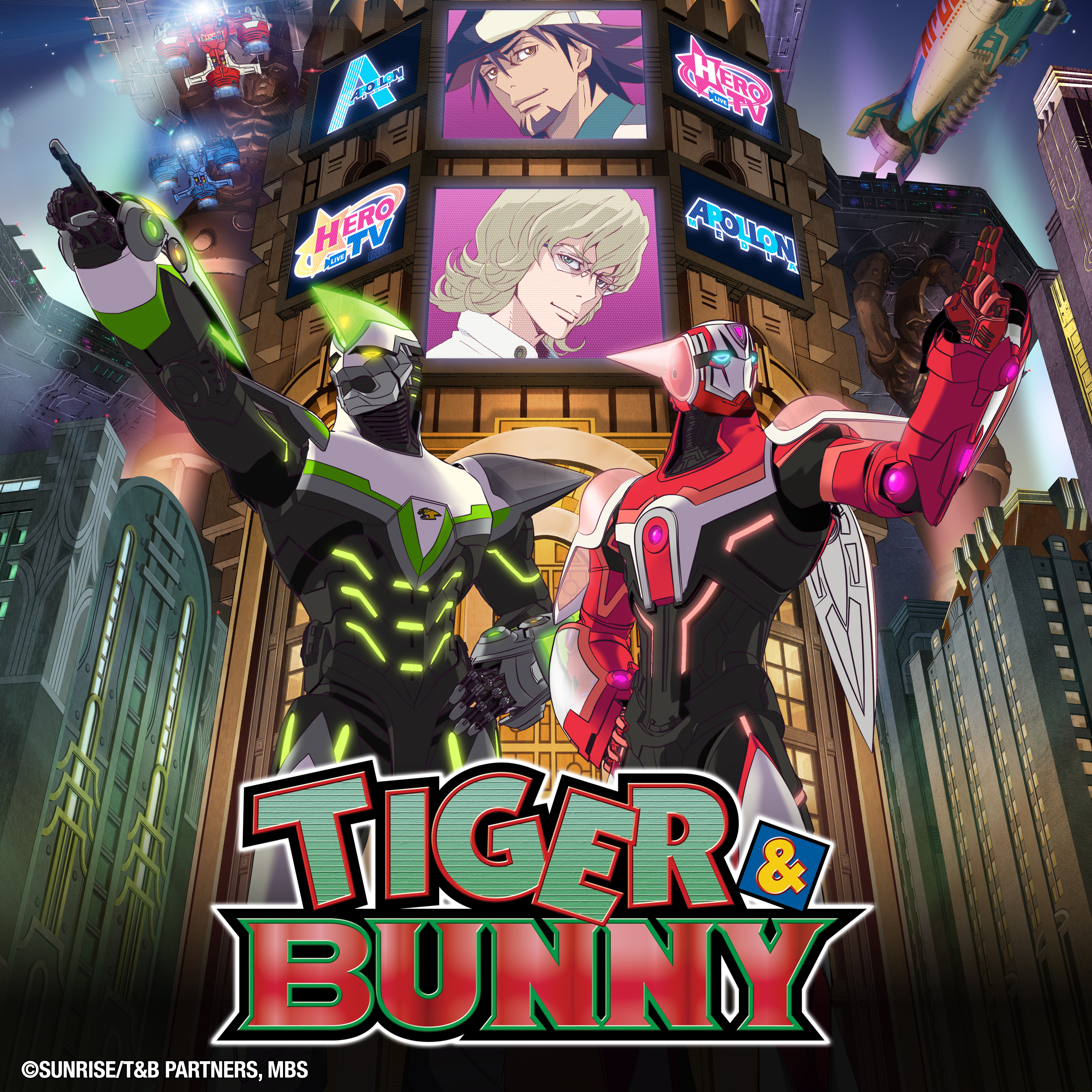 Screen & Page: Super Meets Star In 'Tiger & Bunny'