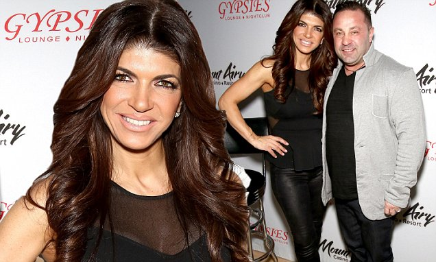 Teresa and Joe Giudice put on brave faces ahead of his prison sentence