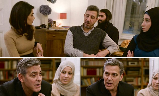 George Clooney slams America's failure to tackle migrant crisis after …